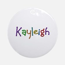 Kayleigh Play Clay Round Ornament