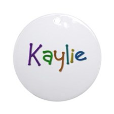 Kaylie Play Clay Round Ornament