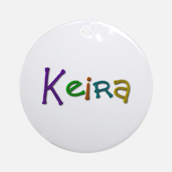 Keira Play Clay Round Ornament
