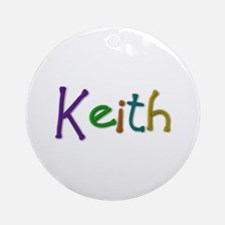 Keith Play Clay Round Ornament