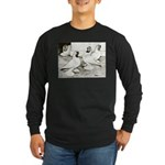 Moorhead Tumbler Pigeons Long Sleeve Dark T-Shirt