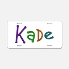 Kade Play Clay Aluminum License Plate
