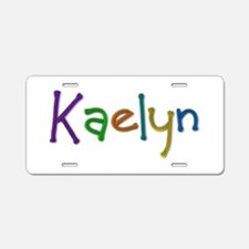 Kaelyn Play Clay Aluminum License Plate