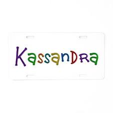 Kassandra Play Clay Aluminum License Plate