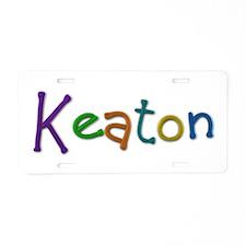 Keaton Play Clay Aluminum License Plate