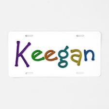 Keegan Play Clay Aluminum License Plate