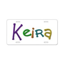 Keira Play Clay Aluminum License Plate