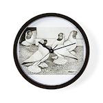 Moorhead Tumbler Pigeons Wall Clock
