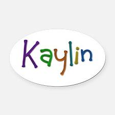Kaylin Play Clay Oval Car Magnet