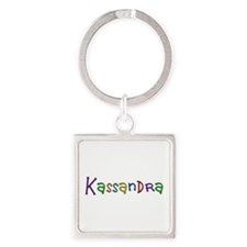 Kassandra Play Clay Square Keychain