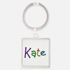 Kate Play Clay Square Keychain