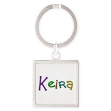 Keira Play Clay Square Keychain