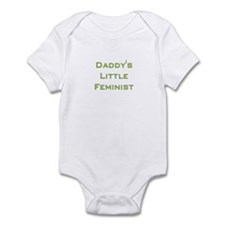Daddy's Little Feminist Infant Bodysuit