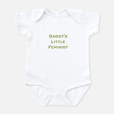 Daddy's Little Feminist Infant Bodysuit