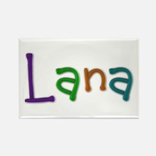 Lana Play Clay Rectangle Magnet