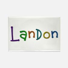 Landon Play Clay Rectangle Magnet
