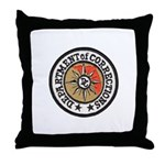 Florida Corrections Throw Pillow