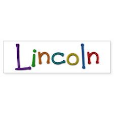Lincoln Play Clay Bumper Bumper Sticker