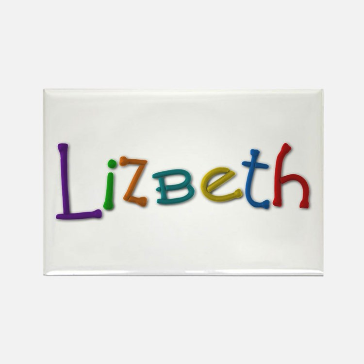 Lizbeth Play Clay Rectangle Magnet