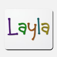Layla Play Clay Mousepad