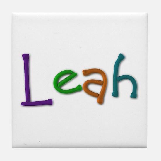 Leah Play Clay Tile Coaster