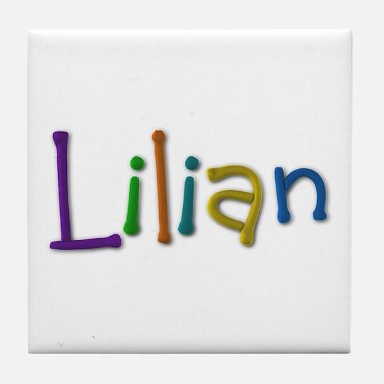Lilian Play Clay Tile Coaster