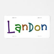 Landon Play Clay Aluminum License Plate