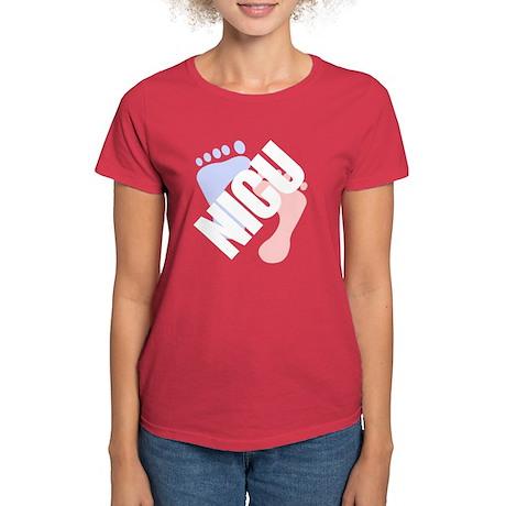 NICU Women's Colorful T-Shirt