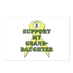 I Support My Granddaughter Postcards (Package of 8