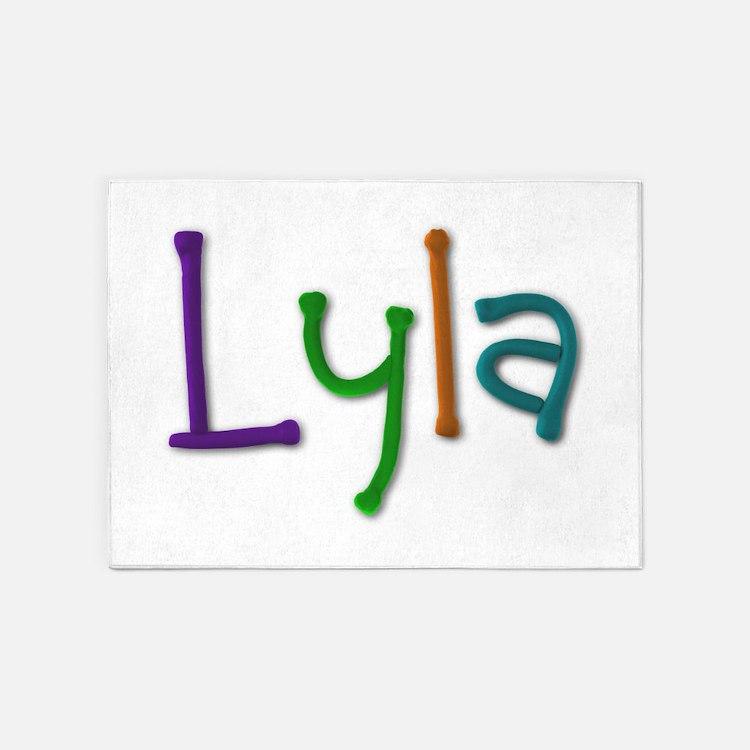 Lyla Play Clay 5'x7' Area Rug