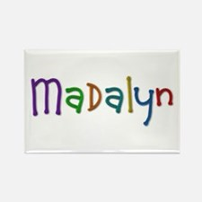Madalyn Play Clay Rectangle Magnet