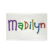 Madilyn Play Clay Rectangle Magnet