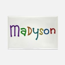 Madyson Play Clay Rectangle Magnet