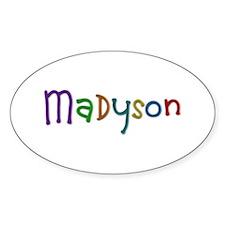 Madyson Play Clay Oval Decal