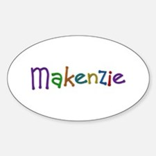 Makenzie Play Clay Oval Decal