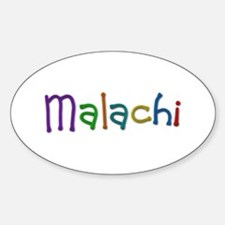 Malachi Play Clay Oval Decal
