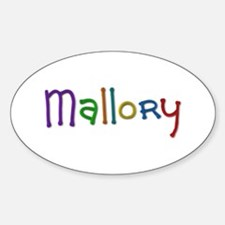 Mallory Play Clay Oval Decal