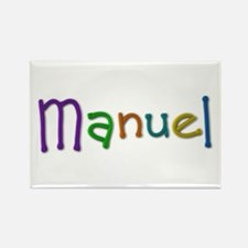 Manuel Play Clay Rectangle Magnet