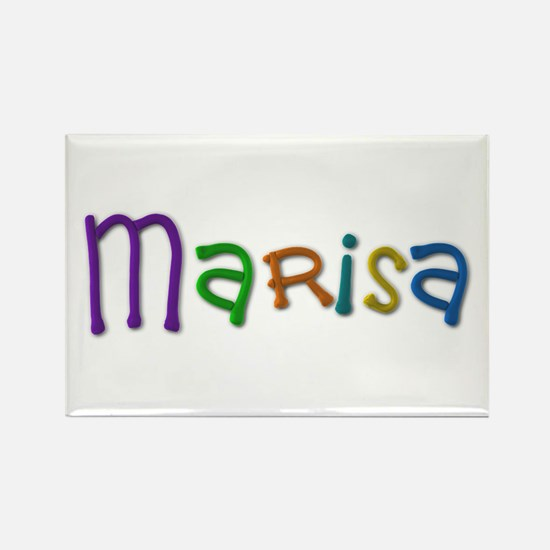 Marisa Play Clay Rectangle Magnet