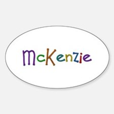 McKenzie Play Clay Oval Decal