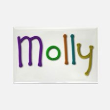 Molly Play Clay Rectangle Magnet