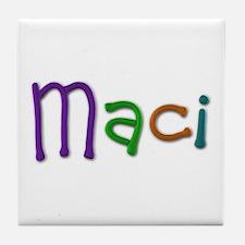 Maci Play Clay Tile Coaster
