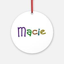 Macie Play Clay Round Ornament