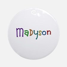 Madyson Play Clay Round Ornament