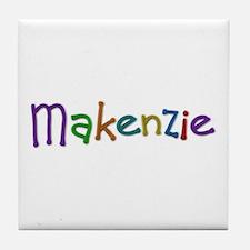 Makenzie Play Clay Tile Coaster