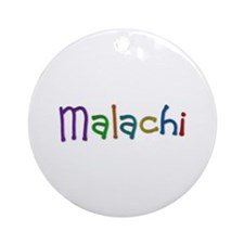 Malachi Play Clay Round Ornament