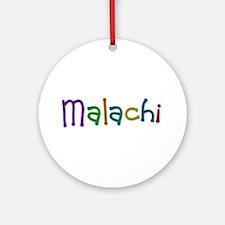 Malachi Play Clay Round Ornament
