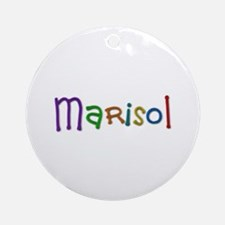 Marisol Play Clay Round Ornament