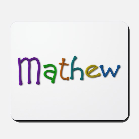 Mathew Play Clay Mousepad