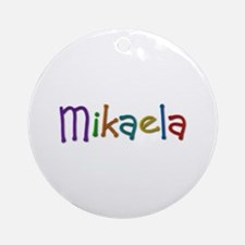 Mikaela Play Clay Round Ornament
